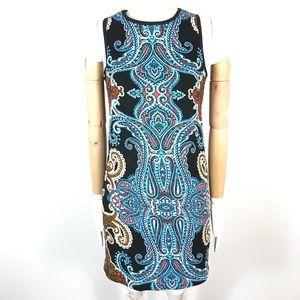 maggy london dress paisley print